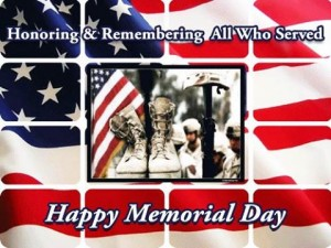Happy Memorial Day and Fishing Update