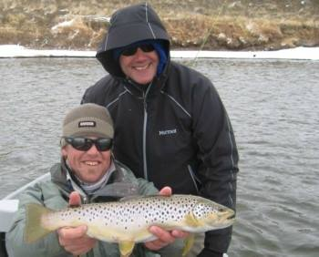 North Platte River Fishing Report March 21, 2016