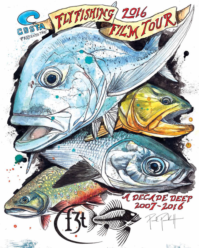 2016 Fly Fishing Film Tour in Casper on March 23rd