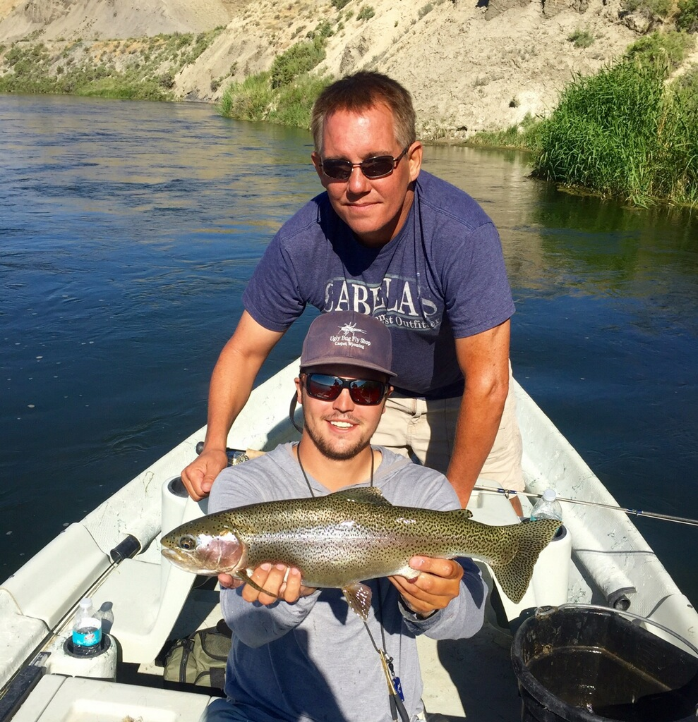 North Platte Fishing Reports for Grey Reef July 2016