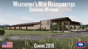Weatherby is moving to Wyoming!!!