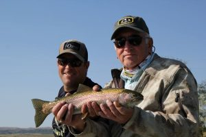 Warriors Afield with Crazy Rainbow Fly Fishing