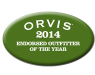 Crazy Rainbow Orvis Endorsed Outfitter of The Year 2014