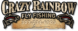Crazy Rainbow Fly Fishing and Wing Shooting at Wyoming